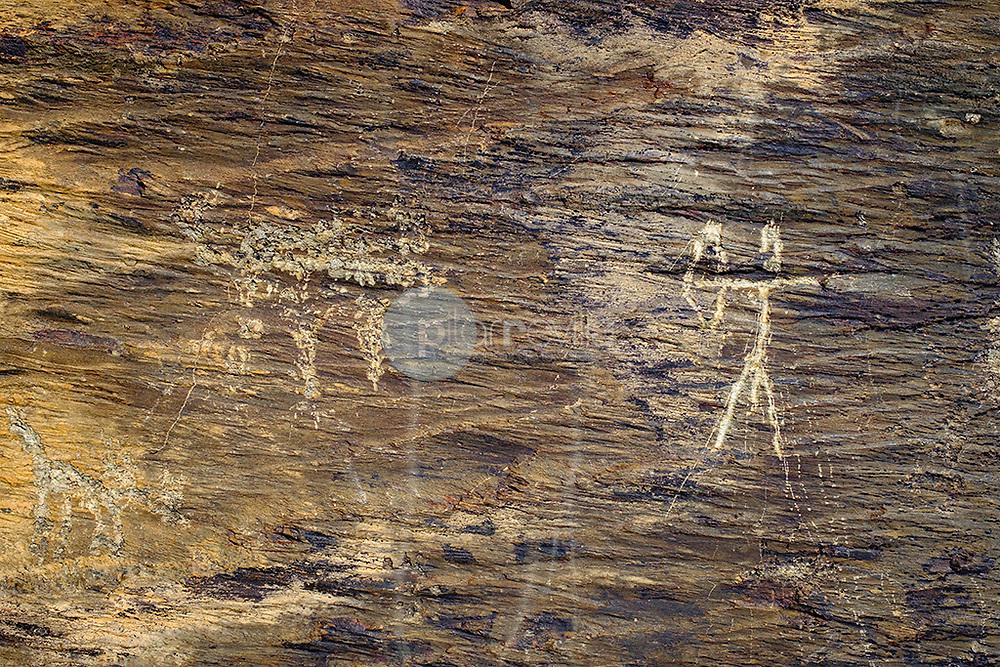Arte rupestre. ( Domingo Garcia ) ©© Javier I. Sanchís / PILAR REVILLA