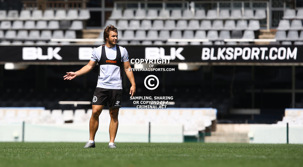 DURBAN, SOUTH AFRICA, 8 September, 2016 -Andre Esterhuizen during The Cell C Sharks training session at Growthpoint Kings Park in Durban, South Africa. (Photo by Steve Haag)<br /> <br /> images for social media must have consent from Steve Haag