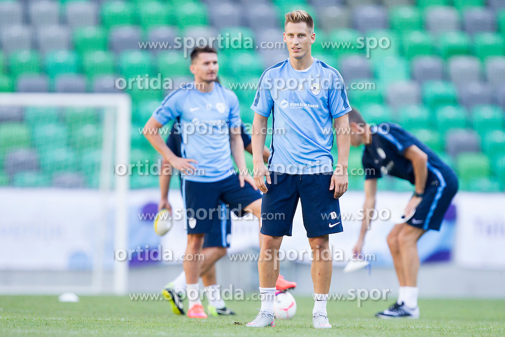 Valter Birsa during practice session of Slovenian National Football Team before Euro 2016 Qualifications match against Switzerland, on September 1, 2015 in SRC Stozice, Ljubljana, Slovenia. Photo by Urban Urbanc / Sportida