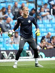 Joe Hart of Manchester City warms up - Mandatory by-line: Matt McNulty/JMP - 13/08/2016 - FOOTBALL - Etihad Stadium - Manchester, England - Manchester City v Sunderland - Premier League