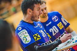 29.09.2018, Sporthalle Leoben-Donawitz, Leoben, AUT, HLA, Union JURI Leoben vs Sparkasse Schwaz HANDBALL TIROL, im Bild Damir Djukic (Union JURI Leoben, Trainer) // during the Handball League Austria, match between Union JURI Leoben vs Sparkasse Schwaz HANDBALL TIROL at the sport Hall, Leoben, Austria, 2018/09/29, EXPA Pictures © 2018, PhotoCredit: EXPA/ Dominik Angerer