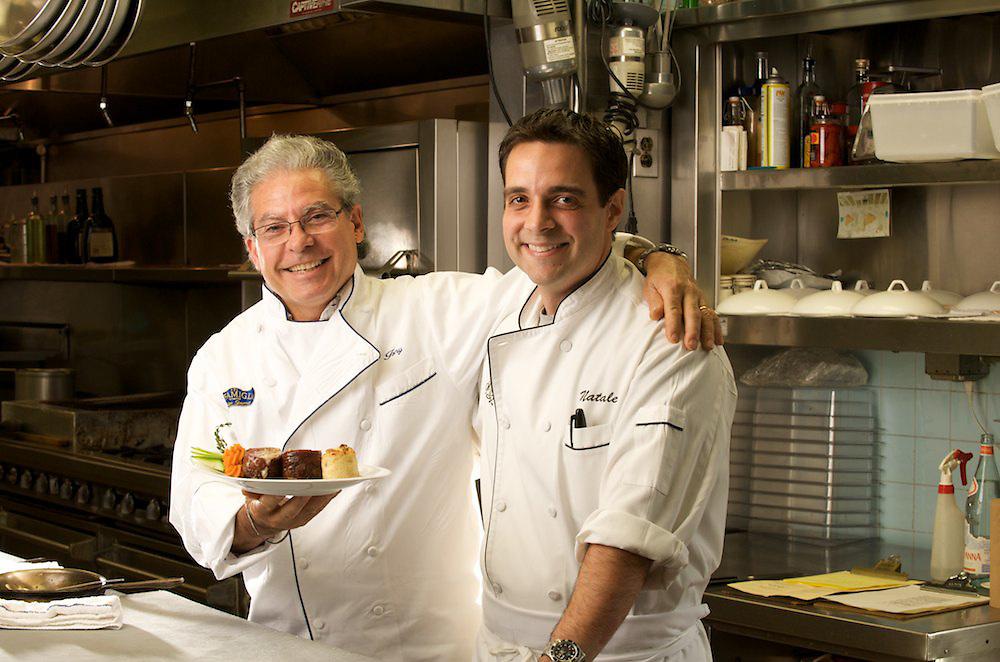 Father & son team Tony and Natale Grande of Il Capriccio