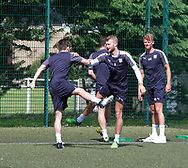 Dundee keeper Scott Bain during pre-season testing at University Grounds, Riverside, Dundee, Photo: David Young<br /> <br />  - &copy; David Young - www.davidyoungphoto.co.uk - email: davidyoungphoto@gmail.com