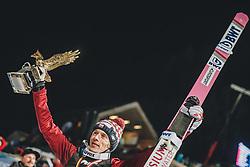 06.01.2020, Paul Außerleitner Schanze, Bischofshofen, AUT, FIS Weltcup Skisprung, Vierschanzentournee, Bischofshofen, Finale, Podium Gesamtsieg, im Bild Gesamtsieger Dawid Kubacki (POL) // during Podium for the overall victory of the Four Hills Tournament of FIS Ski Jumping World Cup at the Paul Außerleitner Schanze in Bischofshofen, Austria on 2020/01/06. EXPA Pictures © 2020, PhotoCredit: EXPA/ JFK