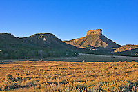 842 ft. Point Lookout.  Mesa Verde National Park, Colorado.