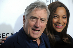 NEW YORK, NY - APRIL 15: Robert De Niro, Grace Hightower attends the world premiere of 'Live From New York' during the 2015 Tribeca Film Festival at The Beacon Theatre on April 15, 2015 in New York City....People:  Robert De Niro, Grace Hightower. (Credit Image: © SMG via ZUMA Wire)