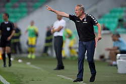 Christian Streich, head coach of SC Freiburg during 2nd Leg football match between NK Domzale and FC Freiburg in 3rd Qualifying Round of UEFA Europa League 2017/18, on August 3rd, 2017 in SRC Stozice, Ljubljana, Slovenia. Photo by Urban Urbanc / Sportida