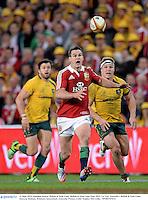 22 June 2013; Jonathan Sexton, British & Irish Lions. British & Irish Lions Tour 2013, 1st Test, Australia v British & Irish Lions, Suncorp Stadium, Brisbane, Queensland, Australia. Picture credit: Stephen McCarthy / SPORTSFILE