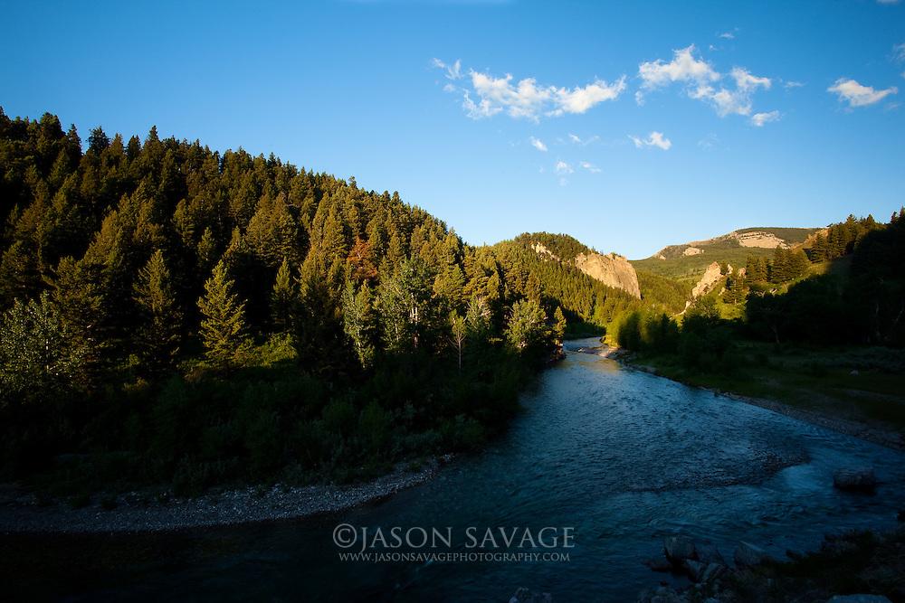Upper Deerborn River, Montana.