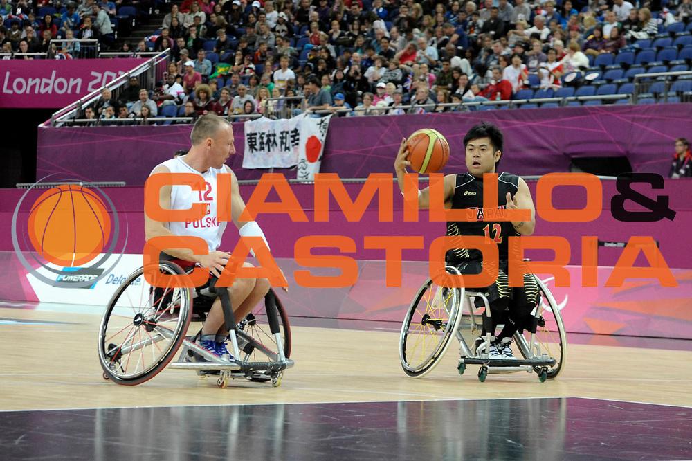 DESCRIZIONE : London Londra Paralympic Games ParaOlimpiadi 2012 Poland Japan Giappone Polonia<br /> GIOCATORE :<br /> CATEGORIA :<br /> SQUADRA : Poland Japan Giappone Polonia<br /> EVENTO : Paralympic Games ParaOlimpiadi 2012<br /> GARA : Poland Japan Giappone Polonia<br /> DATA : 31/08/2012<br /> SPORT : Pallacanestro <br /> AUTORE : Agenzia Ciamillo-Castoria/G.Fiolo<br /> Galleria : London Londra Paralympic Games ParaOlimpiadi 2012 <br /> Fotonotizia : London Londra Paralympic Games ParaOlimpiadi 2012 Poland Japan Giappone Polonia<br /> Predefinita :