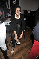ROSE HANBURY at the opening of the Brompton Bar & Grill, 243 Brompton Road, London SW3 on 11th March 2009.