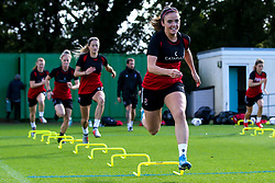 Kirsten Reilly of Bristol City Women during training at Failand - Mandatory by-line: Robbie Stephenson/JMP - 26/09/2019 - FOOTBALL - Failand Training Ground - Bristol, England - Bristol City Women Training