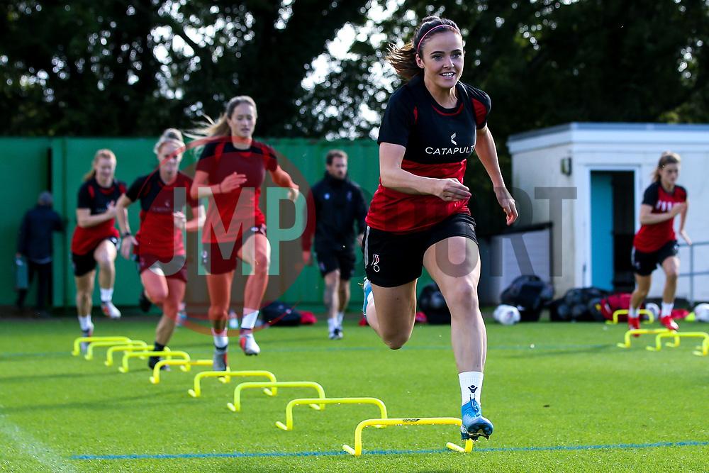 Kirsten Reilly of Bristol City Women during training at Failand - Mandatory by-line: Robbie Stephenson/JMP - 26/09/2019 - FOOTBALL - Failand Training Ground - Bristol, England - Bristol City Women Training