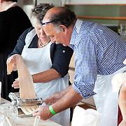 Pasta making class, Aldeburgh Food Festival