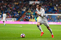 Real Madrid's Gareth Bale during La Liga Match at Santiago Bernabeu Stadium in Madrid. October 23, 2016. (ALTERPHOTOS/Borja B.Hojas)