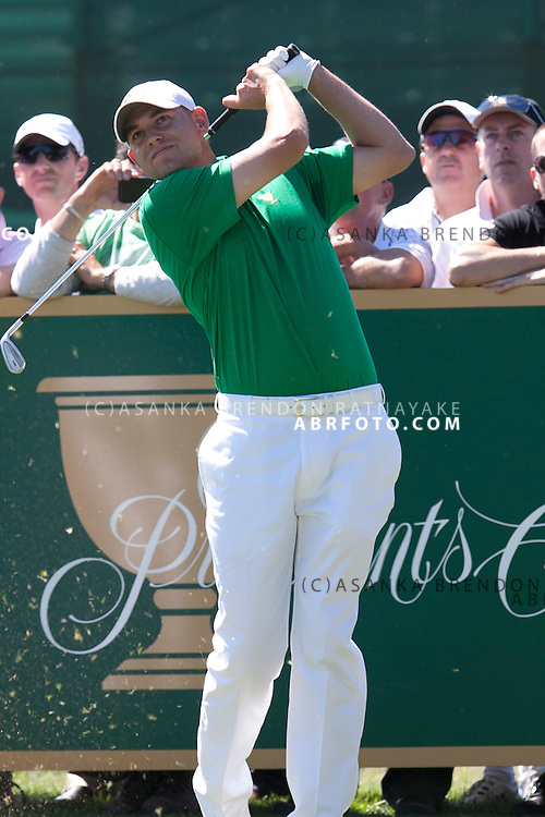 15 November 2011 : during the Presidents Cup at the Royal Melbourne Golf Club in Melbourne, Australia.