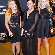 NLD/Hilversum/20151018 - Premiere Studio 21 Pandora, O'G3NE, Lisa Vol, Shelley Vol en Amy Vol