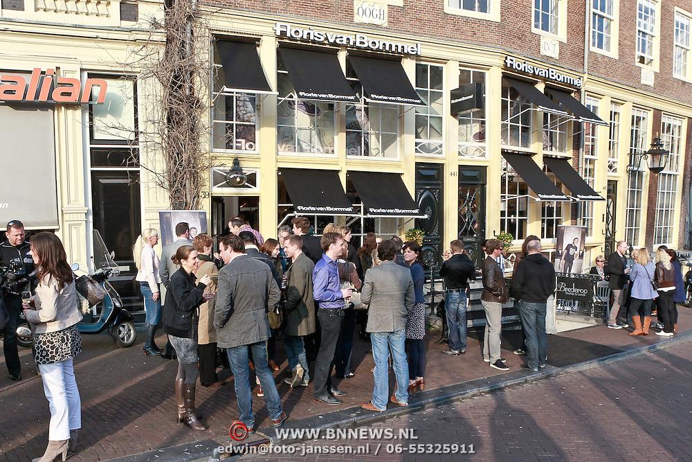 NLD/Amsterdam/20110315 - Opening 1e Floris van Bommel store in Amsterdam,