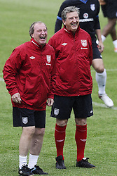 England manager Roy Hodgson at training ahead of their game against Sweden in the UEFA Euro 2012. Photo by Imago/i-Images.All Rights Reserved ©imago/i-Images .Contact Agency for fees before use...One use only. Re-Use Fees apply