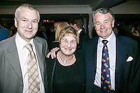 Nick Williams, Principal BRITs School, Pauline Etkin (Nordoff-Robbins) and John Craig