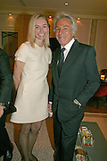 JO MANOUKIAN AND GIANCARLO GIACOMETTI, Dinner hosted by Elizabeth Saltzman for Donatella Versace. Claridge's Hotel, Brook Street, Mayfair, London. 11 March 2008.  *** Local Caption *** -DO NOT ARCHIVE-© Copyright Photograph by Dafydd Jones. 248 Clapham Rd. London SW9 0PZ. Tel 0207 820 0771. www.dafjones.com.