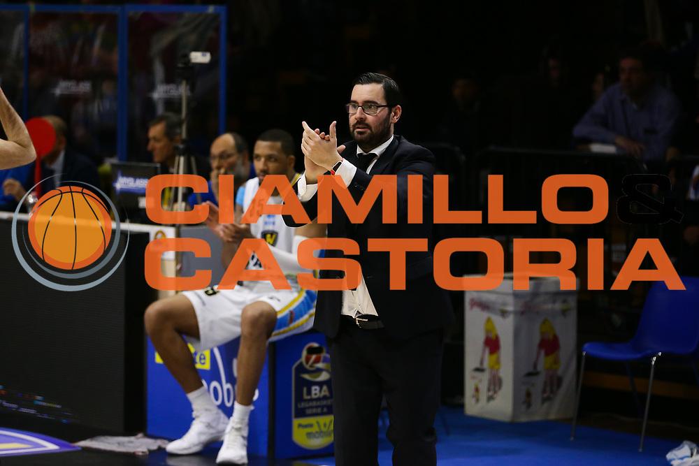 Cesare Pancotto<br /> Vanoli Cremona - Betaland Capo D Orlando<br /> Lega Basket Serie A 2016/2017<br /> Cremona 12/03//2017<br /> Foto Ciamillo-Castoria / M. Brondi