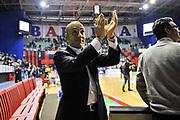 Stefano Sardara<br /> Angelico Biella - Banco di Sardegna Dinamo Sassari<br /> Legabasket Serie A Beko 2012-2013<br /> Biella, 20/01/2013<br /> Foto L.Canu / Ciamillo-Castoria