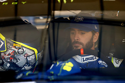 June 23, 2017 - Sonoma, CA, United States of America - June 23, 2017 - Sonoma, CA, USA: Jimmie Johnson (48) hangs out in the garage during practice for the Toyota/Save Mart 350 at Sonoma Raceway in Sonoma, CA. (Credit Image: © Justin R. Noe Asp Inc/ASP via ZUMA Wire)