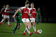 Arsenal midfielder Dominique Bloodworth (20) during the FA Women's Super League match between Arsenal Women and Yeovil Town Women at Meadow Park, Borehamwood, United Kingdom on 20 February 2019.