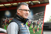 Watford manager Nigel Pearson pitchside ahead of the Premier League match between Bournemouth and Watford at the Vitality Stadium, Bournemouth, England on 12 January 2020.