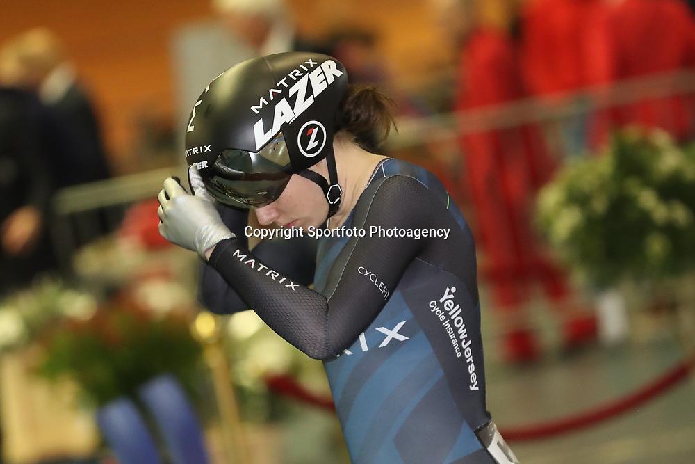 28-12-2017: Wielrennen: NK Baan: Alkmaar<br />Laurine van Riessen pakt de titel op de sprint bij de vrouwen