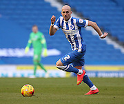 Brighton's Bruno Saltor during the Sky Bet Championship match between Brighton and Hove Albion and Birmingham City at the American Express Community Stadium, Brighton and Hove, England on 21 February 2015. Photo by Phil Duncan.