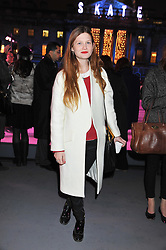 BONNIE WRIGHT at a Winter Party hosted by Tiffany to celebrate the opening of the Ice Rink at Somerset House for Christmas 2011 held on 21st November 2011.