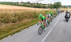 04.07.2017, Pöggstall, AUT, Ö-Tour, Österreich Radrundfahrt 2017, 2. Etappe von Wien nach Pöggstall (199,6km), im Bild William Clarke (AUS, Cannondale Drapac Professional Cycling Team) // William Clarke (AUS, Cannondale Drapac Professional Cycling Team) during the 2nd stage from Vienna to Pöggstall (199,6km) of 2017 Tour of Austria. Pöggstall, Austria on 2017/07/04. EXPA Pictures © 2017, PhotoCredit: EXPA/ JFK