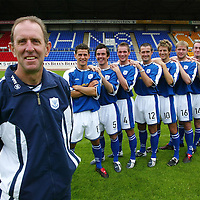 St Johnstone FC Photocall 2004-2005 season. <br />