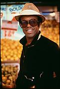 Soul singer Bobby Womack, New York 1980s