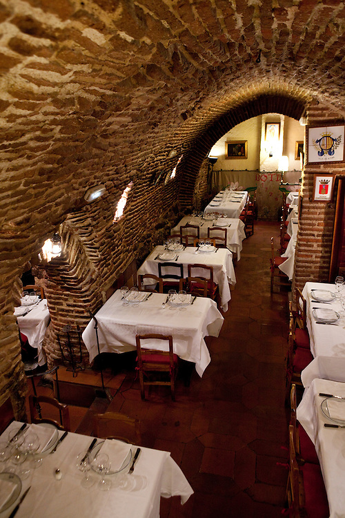 Casa Botín, one of M;adrid most typical restaurants.