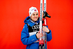 January 6, 2018 - Val Di Fiemme, ITALY - 180106 Heidi Weng of Norway on the podium after women's 10km mass start classic technique during Tour de Ski on January 6, 2018 in Val di Fiemme..Photo: Jon Olav Nesvold / BILDBYRN / kod JE / 160122 (Credit Image: © Jon Olav Nesvold/Bildbyran via ZUMA Wire)