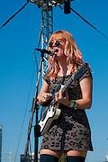Bleached performing at Fun Fun Fun Fest, Austin, Texas, November 4, 2012.
