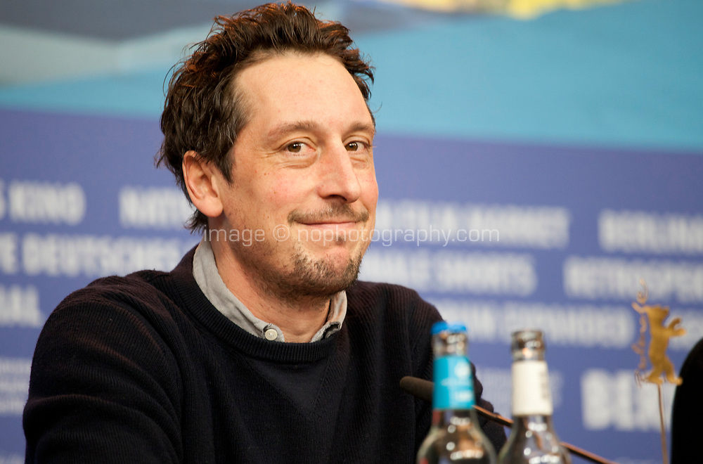 Actor Hans Löw at the press conference for the film All My Loving at the 69th Berlinale International Film Festival, on Saturday 9th February 2019, Hotel Grand Hyatt, Berlin, Germany.