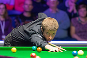Jack Lisowski during the World Snooker 19.com Scottish Open Final Mark Selby vs Jack Lisowski at the Emirates Arena, Glasgow, Scotland on 15 December 2019.