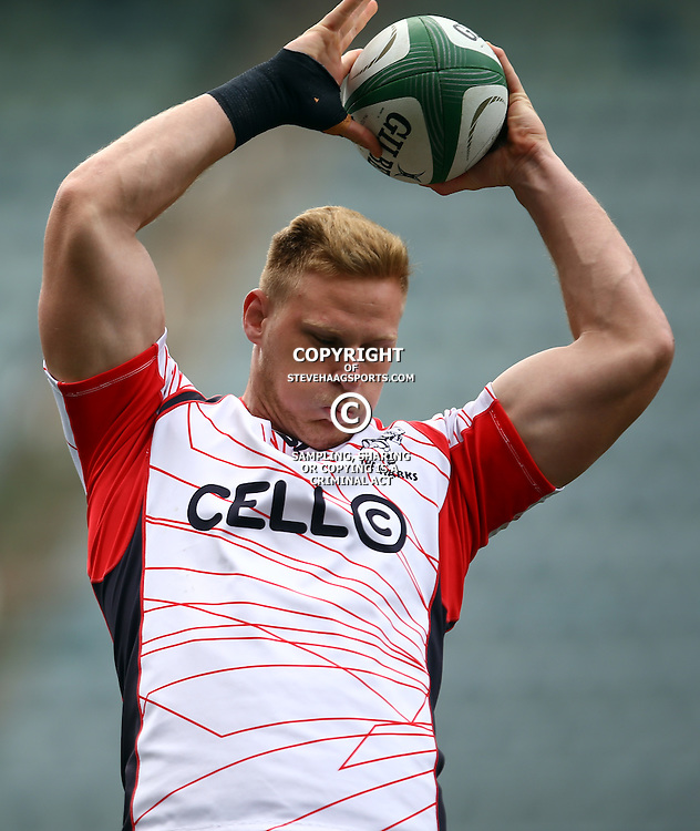 DURBAN, SOUTH AFRICA, 9 September, 2016 - Jean-Luc du Preez during The Cell C Sharks Captains Run at Growthpoint Kings Park in Durban, South Africa. (Photo by Steve Haag)<br /> <br /> images for social media must have consent from Steve Haag