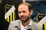 ARLANDA, SWEDEN - MARCH 21: Andreas Alm, head coach of BK Hacken during the Allsvenskan Kick-Off Meeting at Clarion Hotel Arlanda on March 21, 2018 in Arlanda, Sweden. Photo by Nils Petter Nilsson/Ombrello ***BETALBILD***
