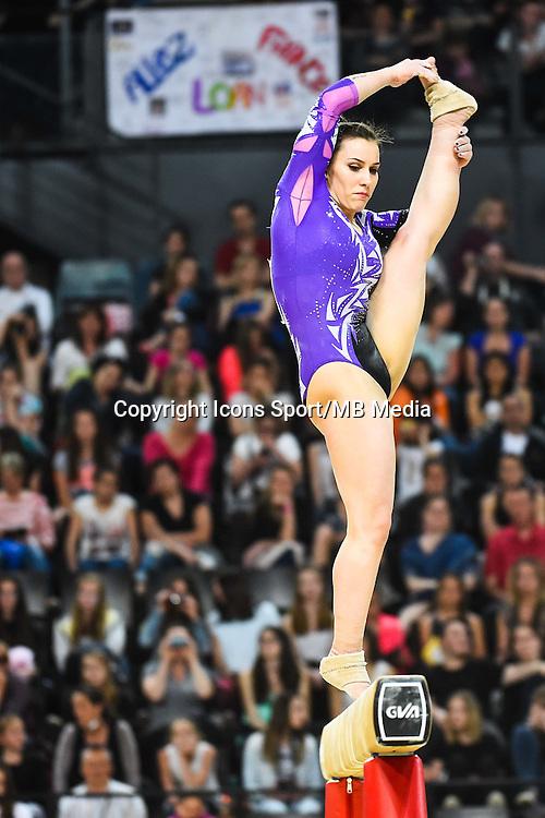 Erika Fasana - Poutre - 15.04.2015 - Qualifications - Championnats d'Europe Gymnastique artistique - Montpellier<br />Photo : Dimou / Icon Sport *** Local Caption ***
