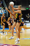 BOP Magic Wing attack Jessica Tuki.<br /> ANZ Netball Championship, Queensland Firebirds v BOP Magic, Semi Final. Gold Coast Convention Centre, Gold Coast, Australia, Monday 9 May 2011. Photo: Andrew Cornaga/photosport.co.nz