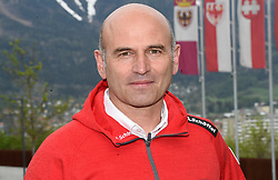24.04.2019, Innsbruck, AUT, Ski Alpin, ÖSV präsentiert neue sportliche Leitung, im Bild Anton Giger (Sportdirektor ÖSV) // Anton Giger Austrian Ski Association sporting director during the presentation of the new sports management in the Alpine Skiing division of the Austrian Ski Association. Innsbruck, Austria on 2019/04/24. EXPA Pictures © 2019, PhotoCredit: EXPA/ Erich Spiess