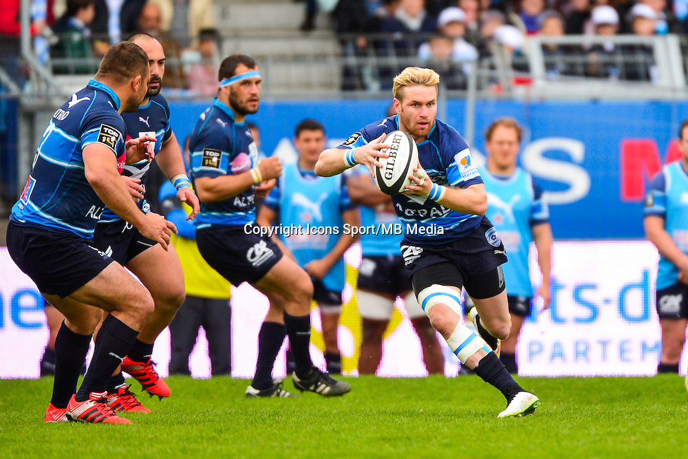 Ben LUCAS  - 11.04.2015 - Racing Metro / Montpellier  - 22eme journee de Top 14 <br />