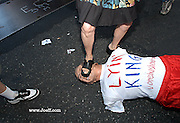Outside the 2004 Republican National Convention in New York City.