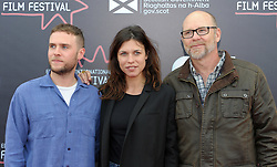 Edinburgh International Film Festival, Thursday, 21st June 2018<br /> <br /> Juror's Photocall<br /> <br /> Pictured: Iain De Caestecker, Ana Ularu and Jason Connery<br /> <br /> (c) Aimee Todd | Edinburgh Elite media