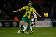 West Bromwich Albion defender Craig Dawson (25)  during the EFL Sky Bet Championship match between Sheffield United and West Bromwich Albion at Bramall Lane, Sheffield, England on 14 December 2018.